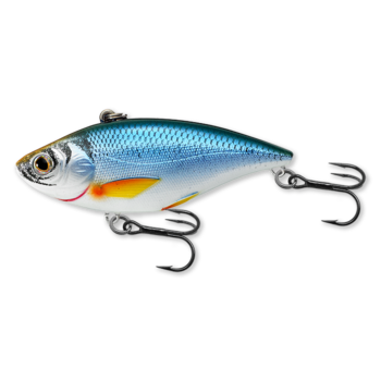 Koppers Live Target Golden Shiner RattleBait Glow/Blue 1/4oz