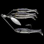 Koppers Live Target BaitBall Spinner Rig 3/8oz Purple Pearl Silver (Med)