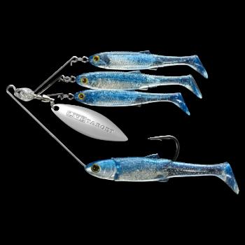 Koppers Live Target BaitBall Spinner Rig 3/8oz Blue Silver (Med)