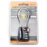30 MM Short Cable Loop Padlock, Black