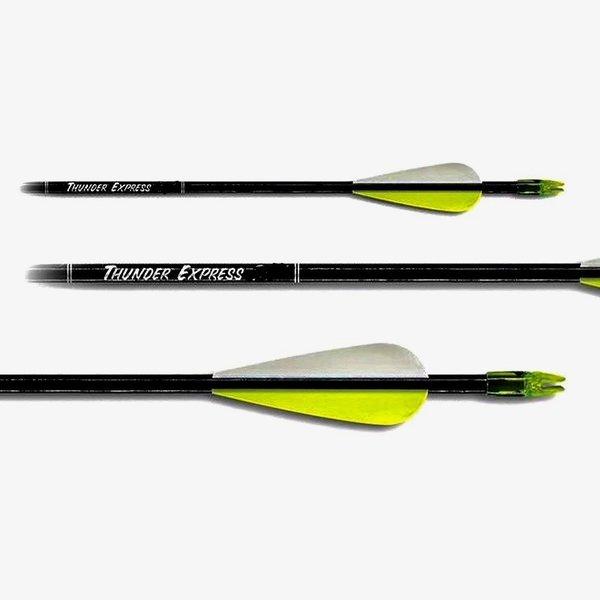"Carbon Express 52015 Thunder Express Arrows Black 28"" 3pk Youth"