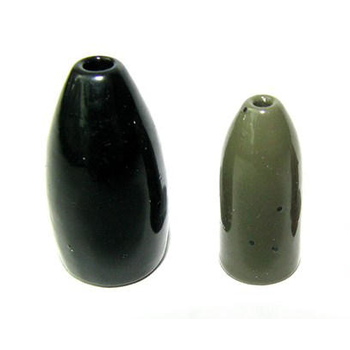 Ultra Tungsten 1/8oz Bullet Weight Black 4-pk