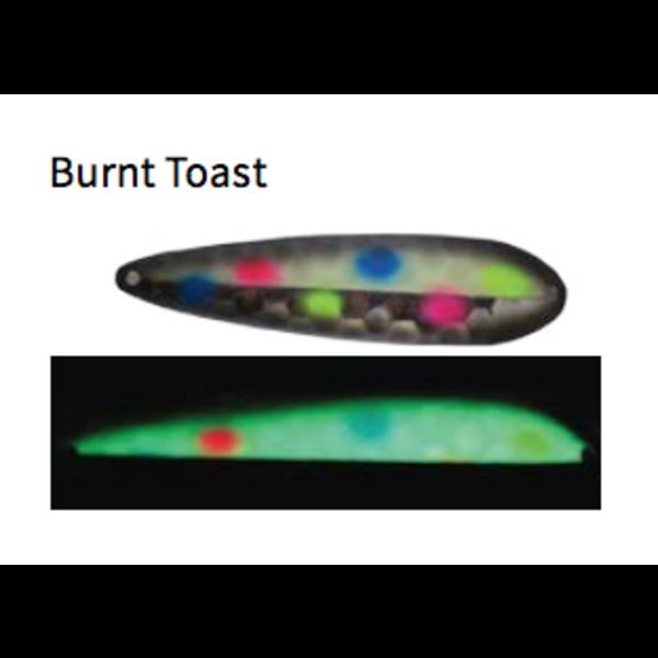 Moonshine Lures Magnum Half Moon Burnt Toast