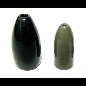 Ultra Tungsten 3/4oz Bullet Weight Green Pumpkin 2-pk