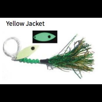 Moonshine Lures Fly Yellow Jacket