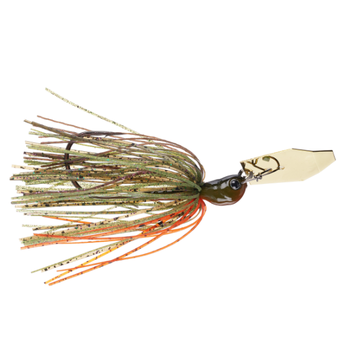 Z-Man Ever Green Jack Hammer. 3/8oz Brett's Bluegill