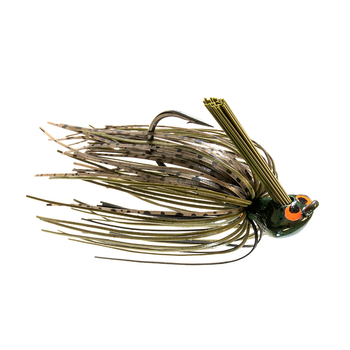 Z-Man 1/2oz CrossEye Flipping Jig. Green Pumpkin