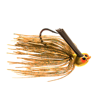 Z-Man 1/2oz CrossEye Flipping Jig. Spring Pumpkin