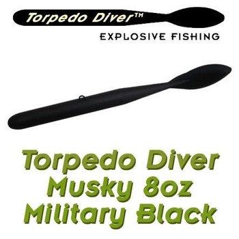 Torpedo Diver Musky Black 8oz