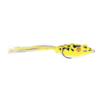 "Terminator Walking Frog. Yellow Leopard 3"" 11/16oz"