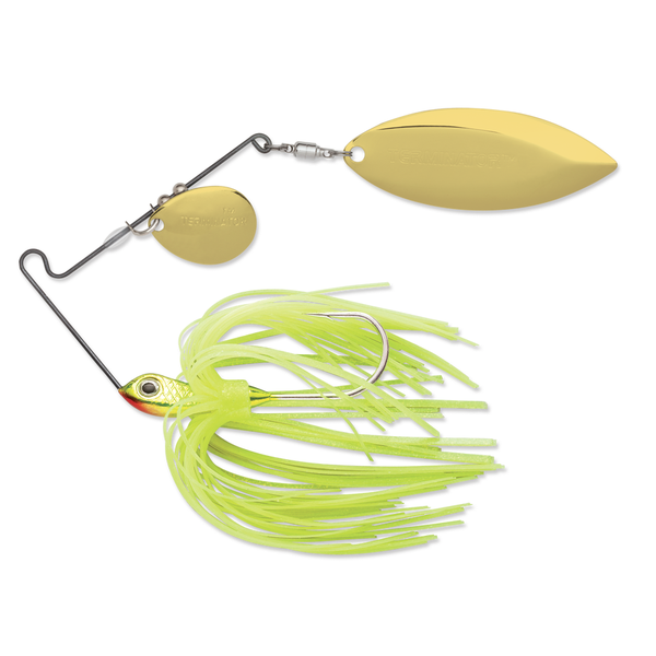 Terminator Super Stainless 1/2oz Sharp Chartreuse Spinnerbait