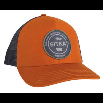 Sitka 5-Panel Trucker Cap, Rust, O/S