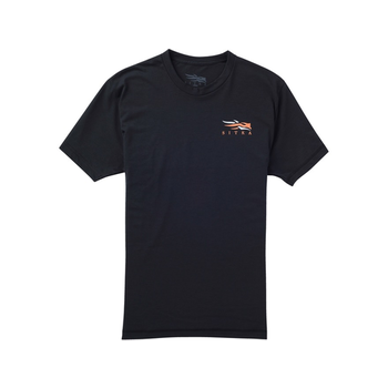 Sitka Broadhead Arrow Short-Sleeve T-Shirt, Black, XXL
