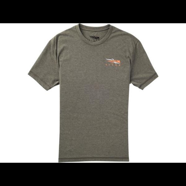 Sitka Broadhead Arrow Short-Sleeve T-Shirt, Pyrite, M