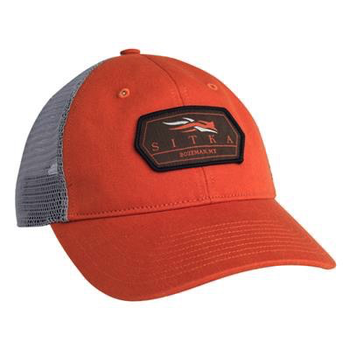 Sitka Meshback Trucker Cap, Burnt Orange, O/S