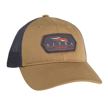 Sitka Meshback Trucker Cap, Clay, O/S