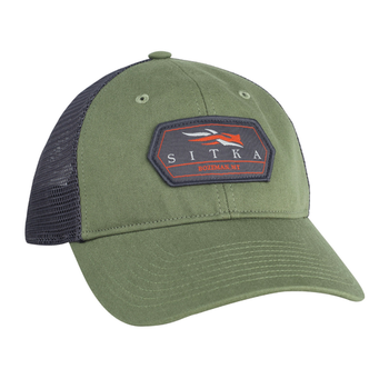 Sitka Meshback Trucker Cap, Forest, O/S