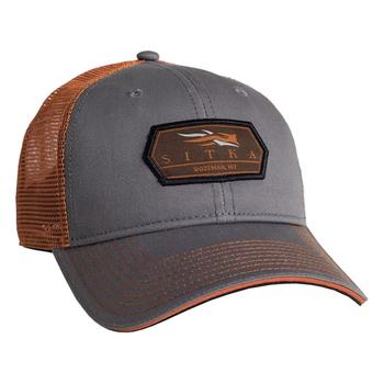 Sitka Meshback Trucker Cap, Woodsmoke, O/S