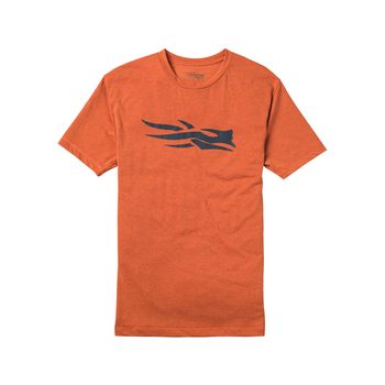 Sitka Logo Short-Sleeve T-Shirt, Burnt Orange, L