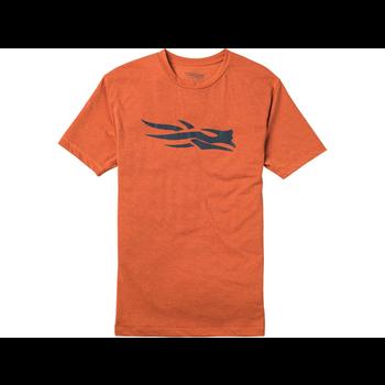 Sitka Logo Short-Sleeve T-Shirt, Burnt Orange, M