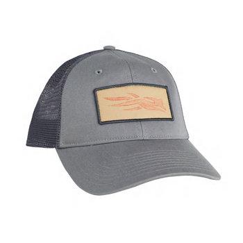 Sitka TOPO Logo Patch Trucker Hat, Shadow, OS