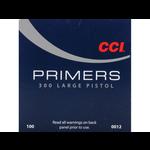CCI #300 Large Pistol Primers, 100 Per Box