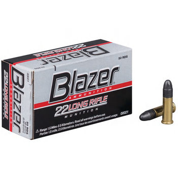 CCI Blazer Ammo 22LR 40gr Lead Round Nose 500 Rounds