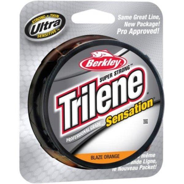 Trilene Sensation 12lb Blaze Orange 330yd Spool