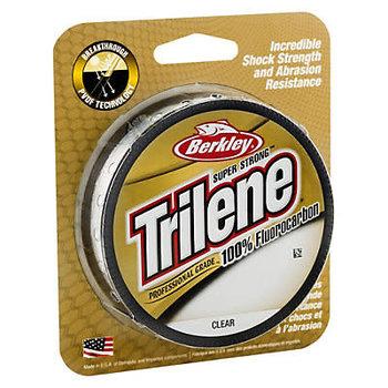 Trilene 100% Fluorocarbon 17lb Clear 200yd Spool