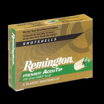 Remington Premier AccuTip Slug Ammo 12ga 3in 385gr 5 Rounds