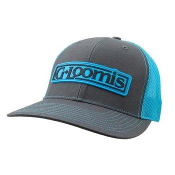 G.Loomis Rubber Logo Cap OSFM Neon Blue