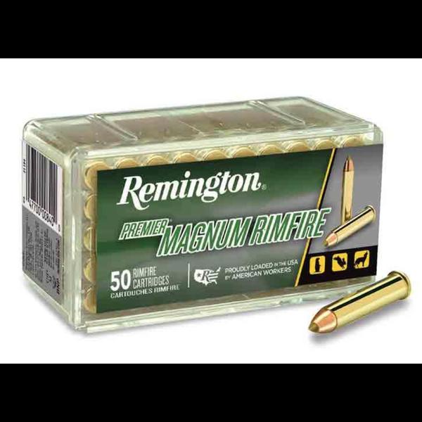 Remington Premier Ammo 17 HMR 17gr Accutip-V Boat Tail 50 Rounds