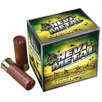"Hevi-Shot Hevi-Shot Hevi-Metal Ammo 12ga #6 Shot 3"" 25 Rounds"