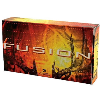 Federal Fusion Rifle Ammo 25-06 Rem 120gr Spitzer Boat Tail 20 Rounds