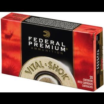 Federal Premium Vital Shok Ammo 7mm-08 Rem 140gr Nosler Partition 20 Rounds