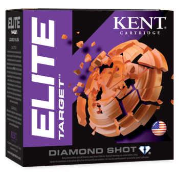 Kent Elite Target 12ga 2-3/4in 1oz 1200fps Ammunition