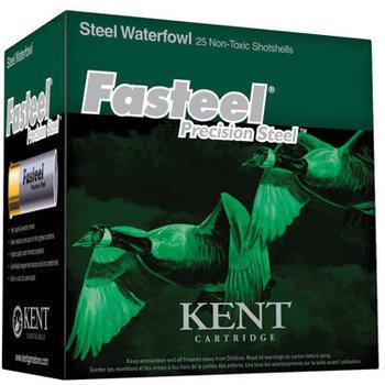 Kent Fasteel Waterfowl Ammo 12ga 2-3/4in 1-1/4oz #3 Shot 25 Rounds