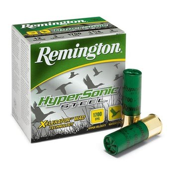 Remington HyperSonic Ammo 10ga 3-1/2in 1-1/2oz BB Non-Toxic Shot 25 Rounds