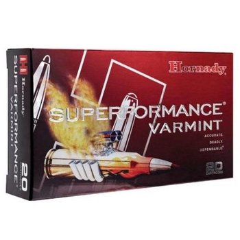 Hornady Superformance Ammo 223 Rem 53gr V-Max 20 Rounds