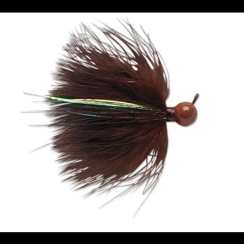 VMC Marabou Jig 1/4oz Brown