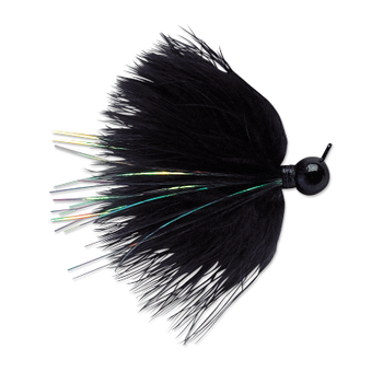 VMC Marabou Jig 1/8oz Black