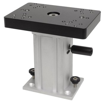 Cannon Aluminum Swivel Base Downrigger Pedestal 6""