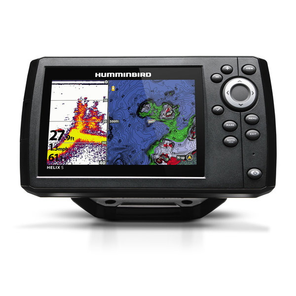 Humminbird Helix 5 CHIRP GPS G2 w/Nav Card