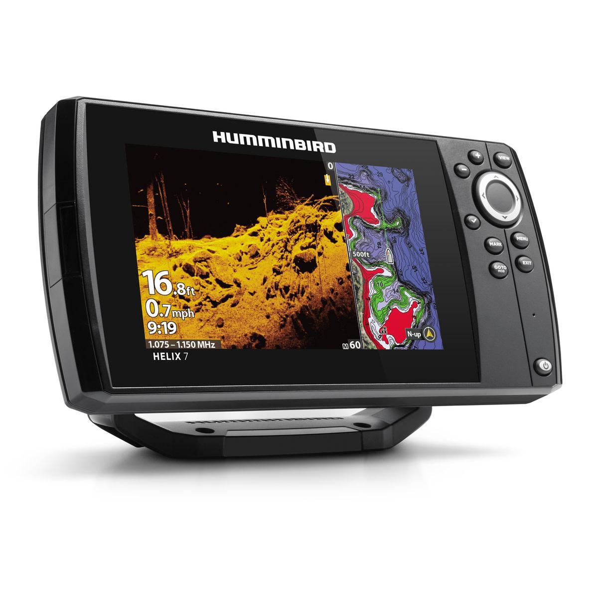 Humminbird Helix 7 CHIRP Mega DI GPS G3 w/Navionics Card