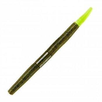 """Yum Dinger 5"""" Green Pumpkin Chartreuse 8-pk"""