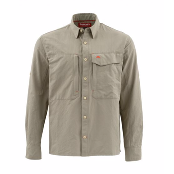 Simms Guide Long Sleeve Shirt, Cork, XXL