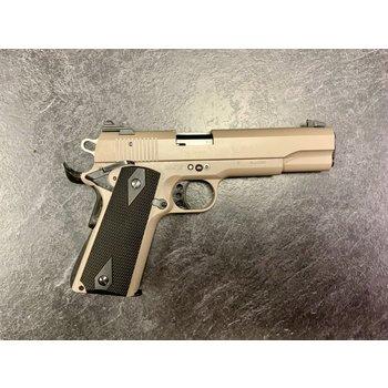 GSG 1911-22 Desert Tan 22 LR Semi Auto Pistol w/2 Mags & Original Box