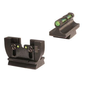 HIVIZ LiteWave Interchangeable Front and Rear Sight Set for Ruger 10/22 Rifles