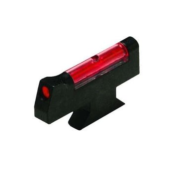 "HIVIZ Overmolded Red Front Sight for Smith & Wesson DX-style front sight revolvers.Fits models with .250"" sight Height"