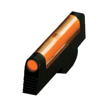 "HIVIZ Overmolded Orange Front Sight for Smith & Wesson pinned  sight revolvers.Fits 2.5"" or longer barrel revolvers with pinned front and adjustable rear sights"